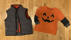 Carter's 18 months Halloween Shirt & Vest for Sale in Aurora, IL