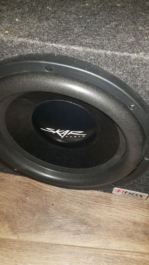 Skar D4 12 inch with Box for Sale in Menifee, CA