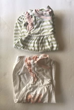 Burt's Bees Baby set of 2 Rompers 3-6 Months- Brand New for Sale in Chatsworth, CA