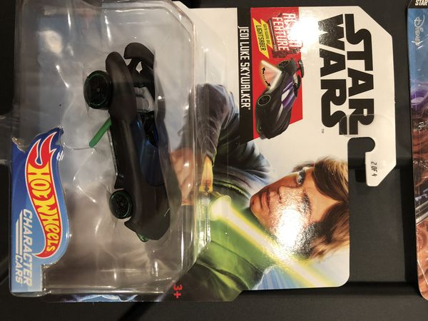 Hot Wheels Star Wars Action Feature Character Cars