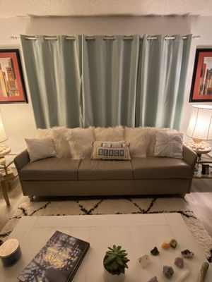 Sofa Bed Coastal Theme ~ Full Size for Sale in Torrance, CA