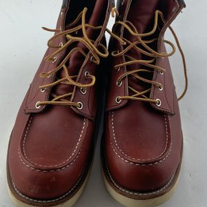 Red Wing Heritage 8131 875 Oro Legacy Moc Men Leather Boots Sz USA 11E   UK 10 for Sale in Philadelphia, PA