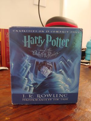 Harry Potter and the Order of the Phoenix - Unabridged, Audio CD Collection, Narrated by Jim Dale for Sale in Laurel, MD