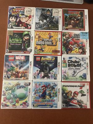 Nintendo 3DS Games $7-20 Each for Sale in Culver City, CA