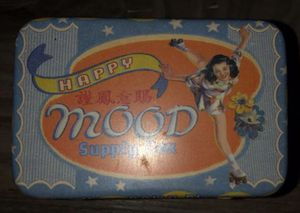 """NEW """"HAPPY MOOD SUPPLY"""" POCKET BOX for Sale in Denver, CO"""