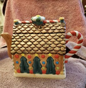 Gingerbread House Teapot for Sale in Bellevue, WA