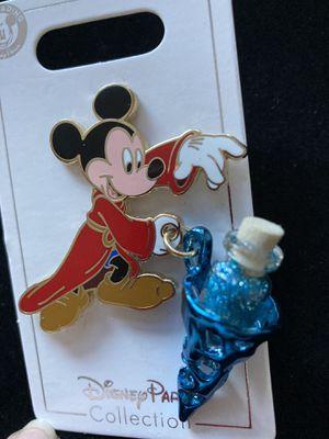 Disney Sorcerer Mickey Mouse Vial of Magic Dust Pin for Sale in Rancho Santa Margarita, CA