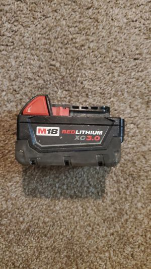 Milwaukee battery for Sale in Renton, WA