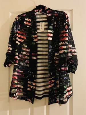 Floral cardigan size small for Sale in Gaithersburg, MD