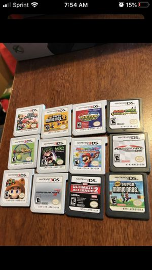 3ds and ds games for Sale in Phoenix, AZ