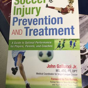 Soccer injury prevention and treatment book for Sale in Matawan, NJ
