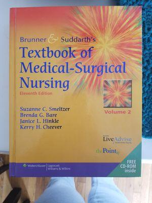 Brunner & Suddarth's Textbook of Medical-Surgical Nursing for Sale in Parkersburg, WV
