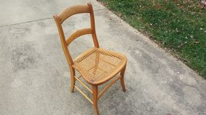 6 antique cane dining chairs for Sale in Raleigh, NC