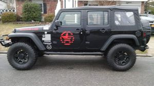 Jeep Wrangler 07/16Bumper- Front/Rear - Sidesteps, Light Bar , Antenna and Tail Light Guards for Sale in Dix Hills, NY