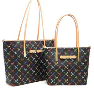 Queen Bee Monogram Bow 2-in-1 Shopper Set for Sale in Joint Base Lewis-McChord, WA
