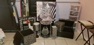 Zebra decoration for Sale in Orlando, FL