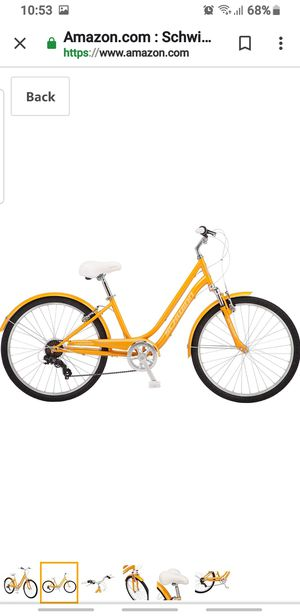 Bike suburban orange 26 lifetime warranty for Sale in Las Vegas, NV