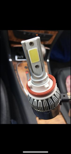 LED Car led headlights kit leds H4 H7 H8 H9 H9 H11 H10 9003 9004 9005/HB3 9006/HB4 9007 9008 H13 All size in stock Pick up with your car inf for Sale in Lakewood, OH