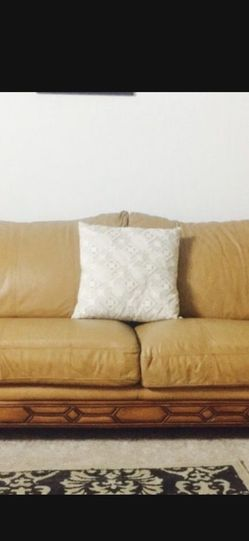 Leather Sofa And Love Seat for Sale in Burlington,  MA