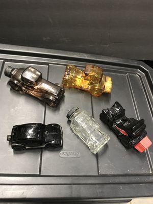 Avon men's glass car collectibles. for Sale in Watauga, TX