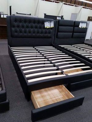 Cal king bed frame with mattress for Sale in Victorville, CA
