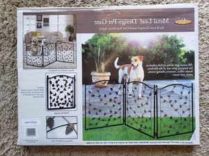 New 3-Panel Metal Dog Gate for Sale in Del Mar, CA