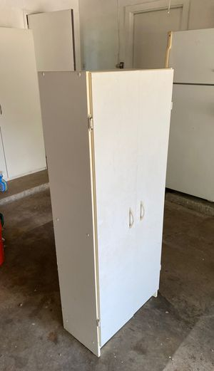 White cabinet for Sale in Irving, TX