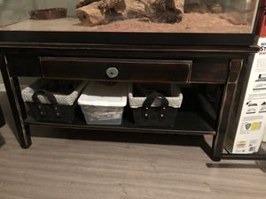Espresso brown coffee table/stand for Sale in Austin, TX