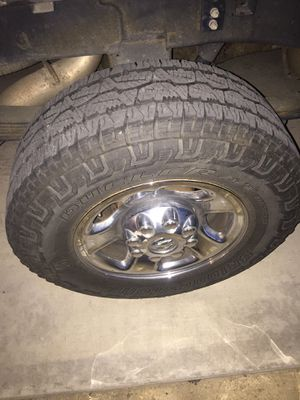 Dodge 2500 3500 wheels and tires! 8x6.5 and 8x165 for Sale in Ontario, CA