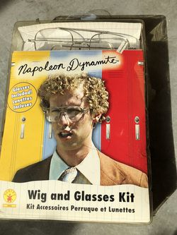 Napolean Dynamite Wig & Glasses Kit for Sale in St. Louis,  MO