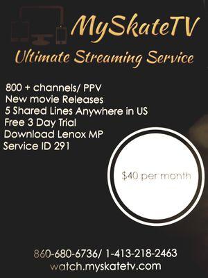 Myskatetv.service for Sale in Windsor, CT