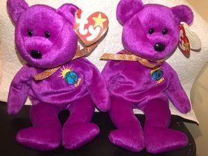Milenium Bear Beanie Baby *rare* for Sale in West New York, NJ