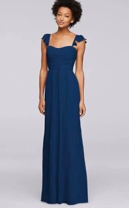 Navy Long Chiffon Dress/Bridesmaid Dress for Sale in Plainfield, IL