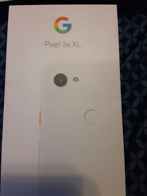 Google pixel 3a XL. Locked for Sprint for Sale in Pasadena, TX