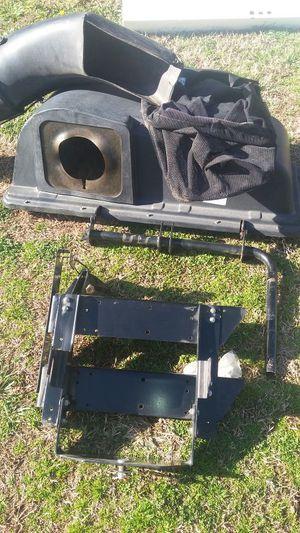 Troy Bilt riding lawn mower Bagger for Sale in Bethlehem, GA