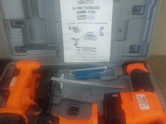 Chicago 18 Volt Combo Kit for Sale in Social Circle,  GA