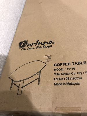 Black coffee table for Sale in Tracy, CA