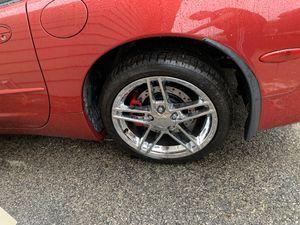 "Corvette Z06 speedline 18"" rim chrome for Sale in Queens, NY"