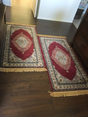 Pair of red rug brand new for Sale in El Cajon, CA