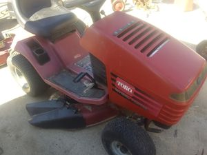 toro hxl 13-38 riding mower for Sale in Temecula, CA
