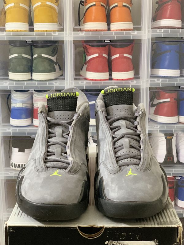 f71a396c4a4ab7 DS Nike Air Jordan 14 XIV Retro Chartreuse (2005) — Size 10 for Sale ...