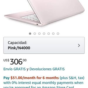 Rose Gold HP Laptod With Headset And Mouse for Sale in Fort Worth, TX