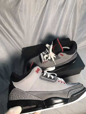 Jordan Retro 3 Stealth (Size: 8 US Men) Pick up only ! for Sale in Lynwood, CA
