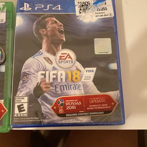 PS4 FIFA 18 for Sale in Garland, TX
