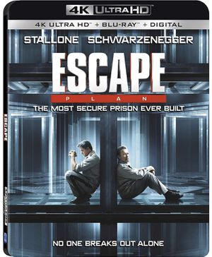 Escape Plan - VUDU 4K Movie of Blu ray for Sale in Irwindale, CA