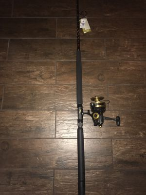 Penn 8500ss / Star rod new fishing rod gear and reel combo for Sale in Tampa, FL