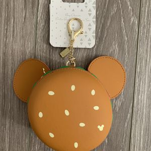 Disney Minnie Mouse Hamburger Bag Charm for Sale in Bloomington, CA
