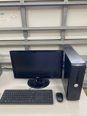 Office Computer with Monitor,Mouse,Keyboard for Sale in West Palm Beach, FL