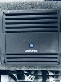 500/1 Alpine amp amplifier mono subwoofer jl audio for Sale in San Francisco, CA
