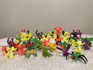 Vintage MEG miniature rubber monster figures toys. Set of 33 for Sale in Des Plaines, IL